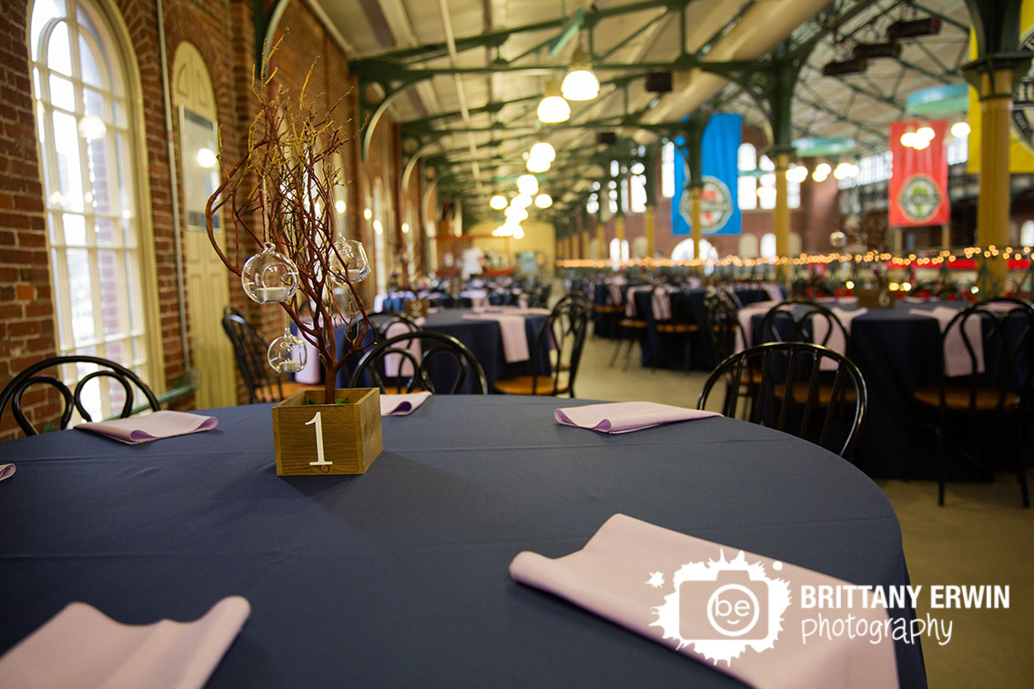 Indianapolis-city-market-wedding-reception-photographer-centerpiece-candle-tree-number-glass-ball.jpg
