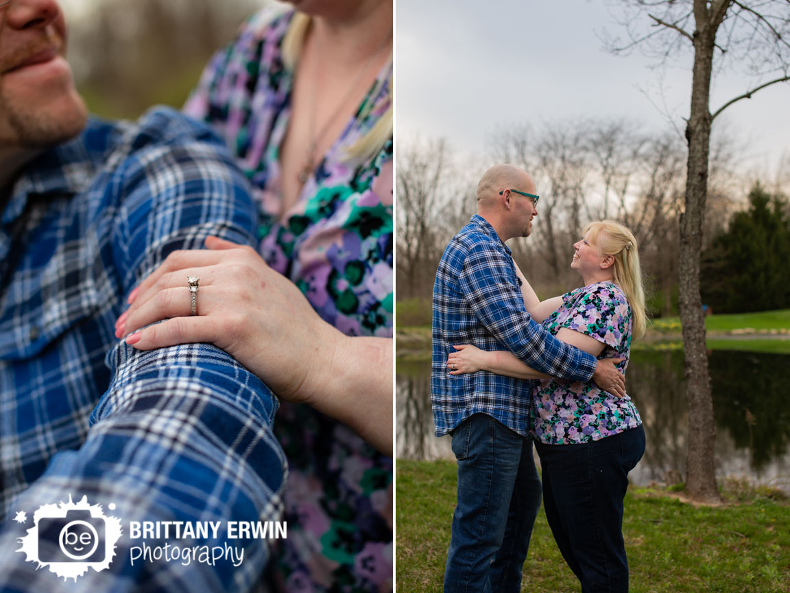 Camby-Indiana-engagement-portrait-photographer-ring-detail-couple-dance-by-pond.jpg