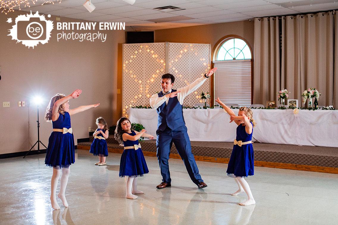 Columbus-Indiana-wedding-reception-photographer-elks-lodge-dance-floor-groom-with-flower-girls.jpg
