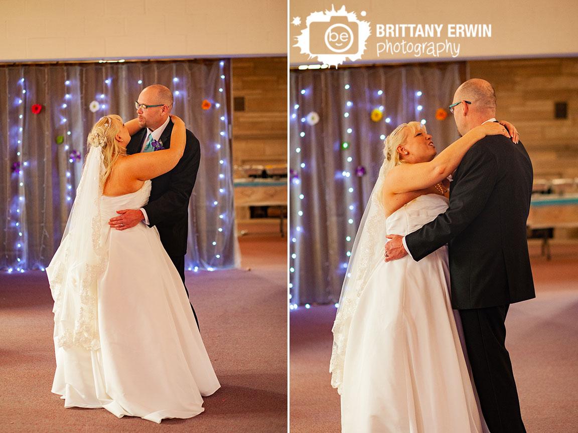 Indiana-Art-Sanctuary-wedding-reception-photographer-first-dance-husband-wife-twinkle-light-background.jpg