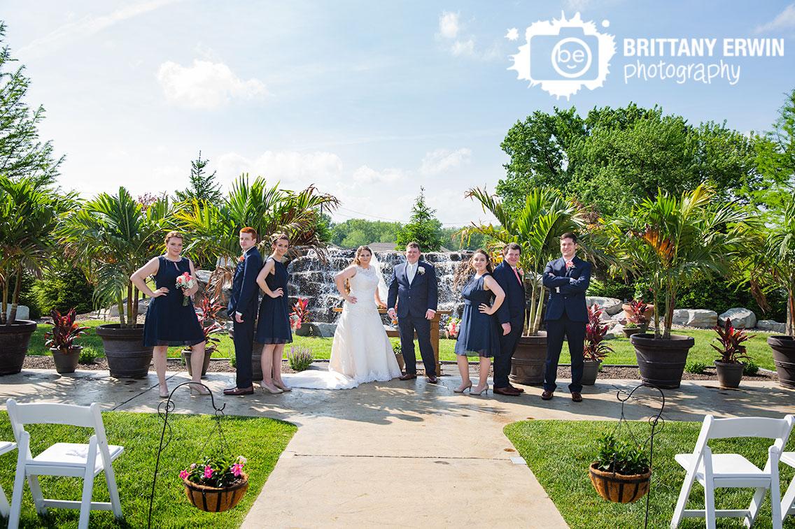 Moorseville-Indiana-wedding-photographer-Jones-Crossing-bridal-party-group-waterfall.jpg