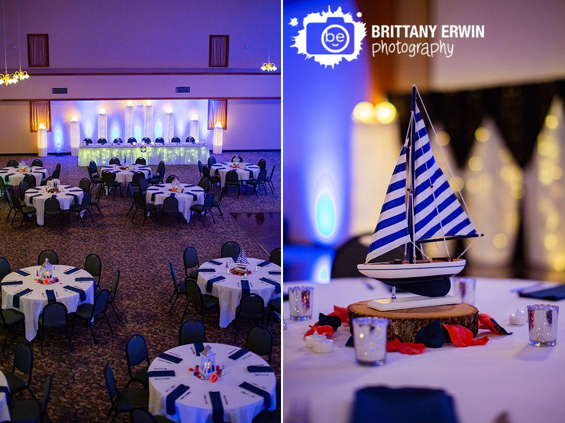 Moorseville-Indiana-wedding-photographer-reception-setup-room-navy-napkins.jpg