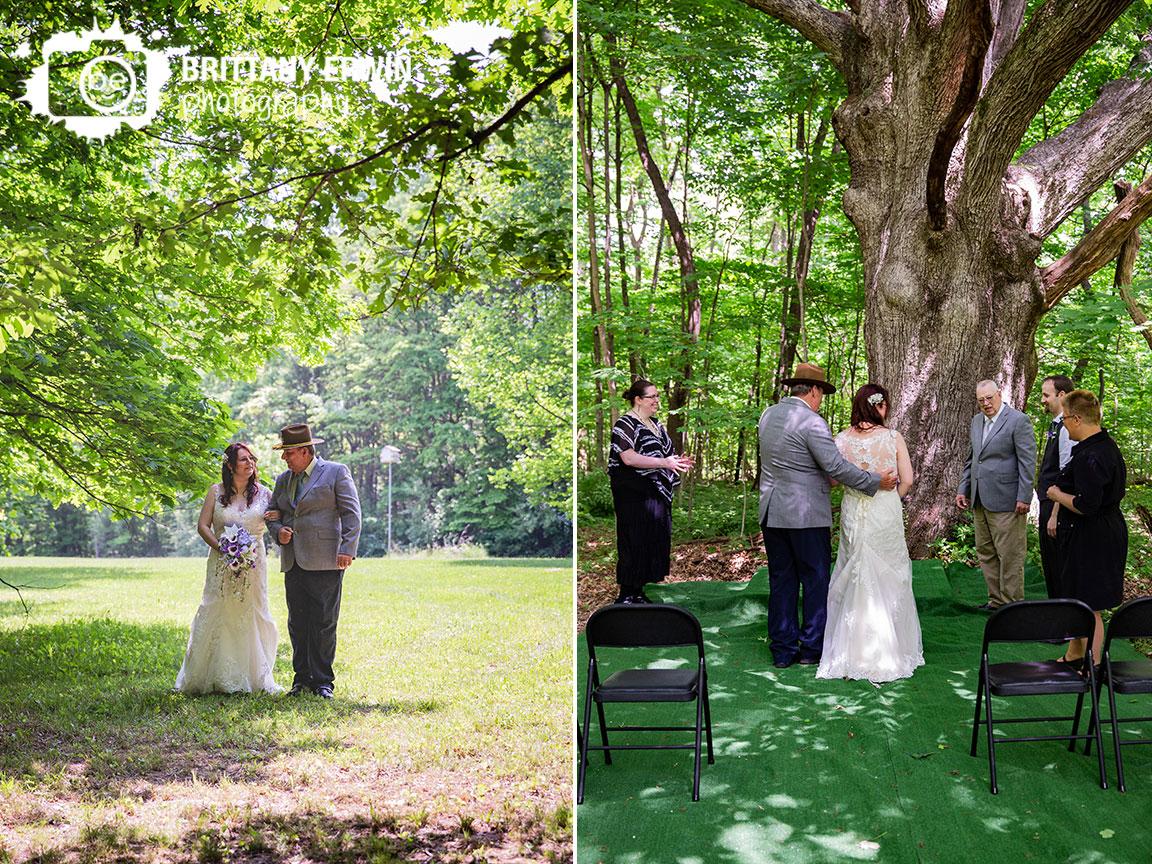 Father-of-bride-walk-daughter-down-aisle-outdoor-backyard-elopement.jpg