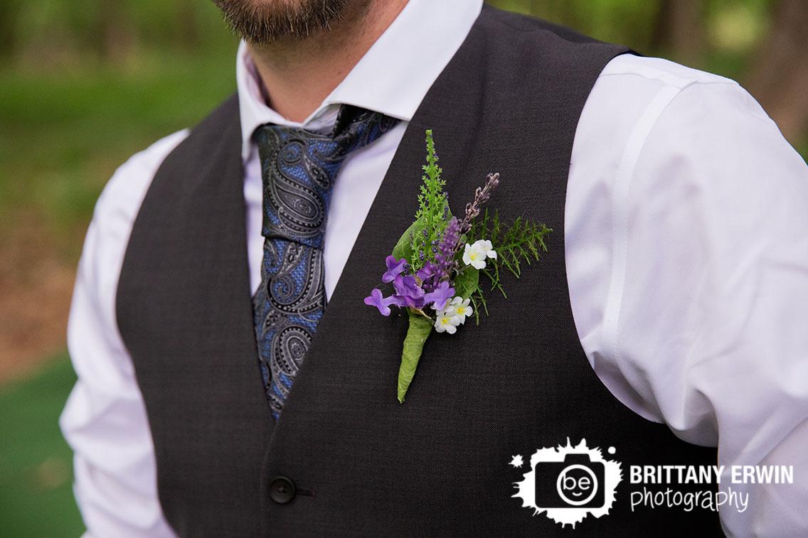 Indiana-photographer-groom-boutonniere-purple-flower-blue-paisley-tie.jpg