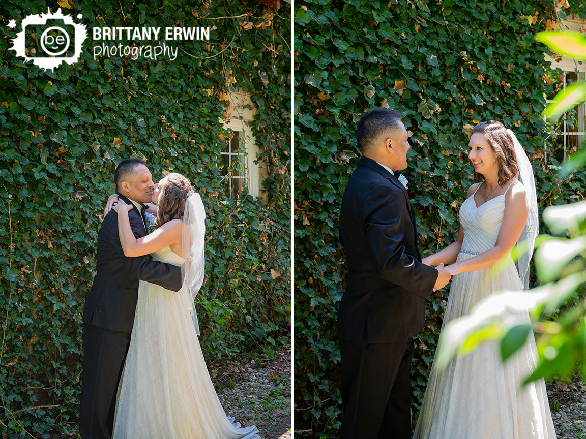 First-look-ivy-covered-stone-wall-wedding-photographer-winery.jpg
