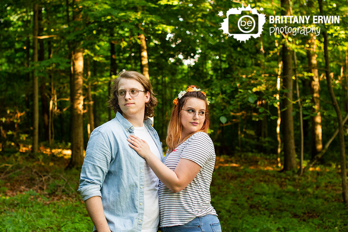 Indianapolis-couple-sunset-forest-portrait-photogrpaher-speckled-trees.jpg
