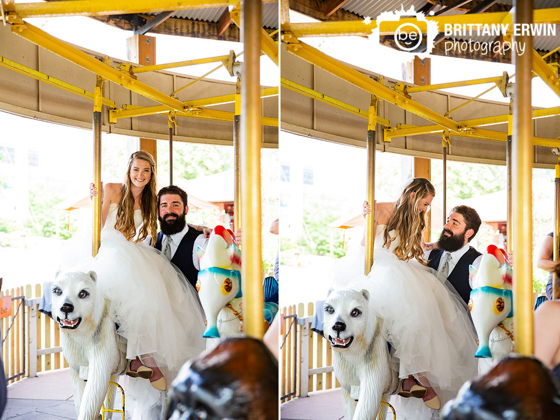 Indianapolis-zoo-carosel-couple-polar-bear-fun-wedding.jpg
