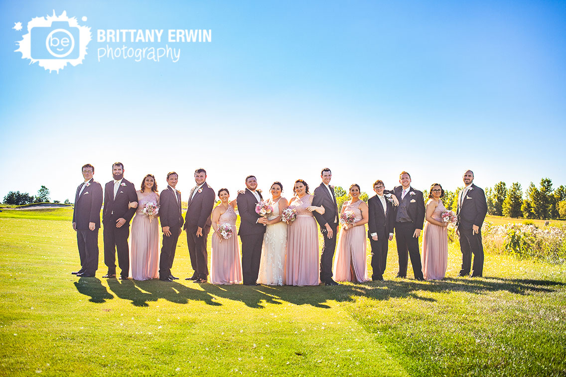 Bridal-party-portrait-large-group-outdoor-golf-course-heartland-crossing-Indiana-photographer.jpg