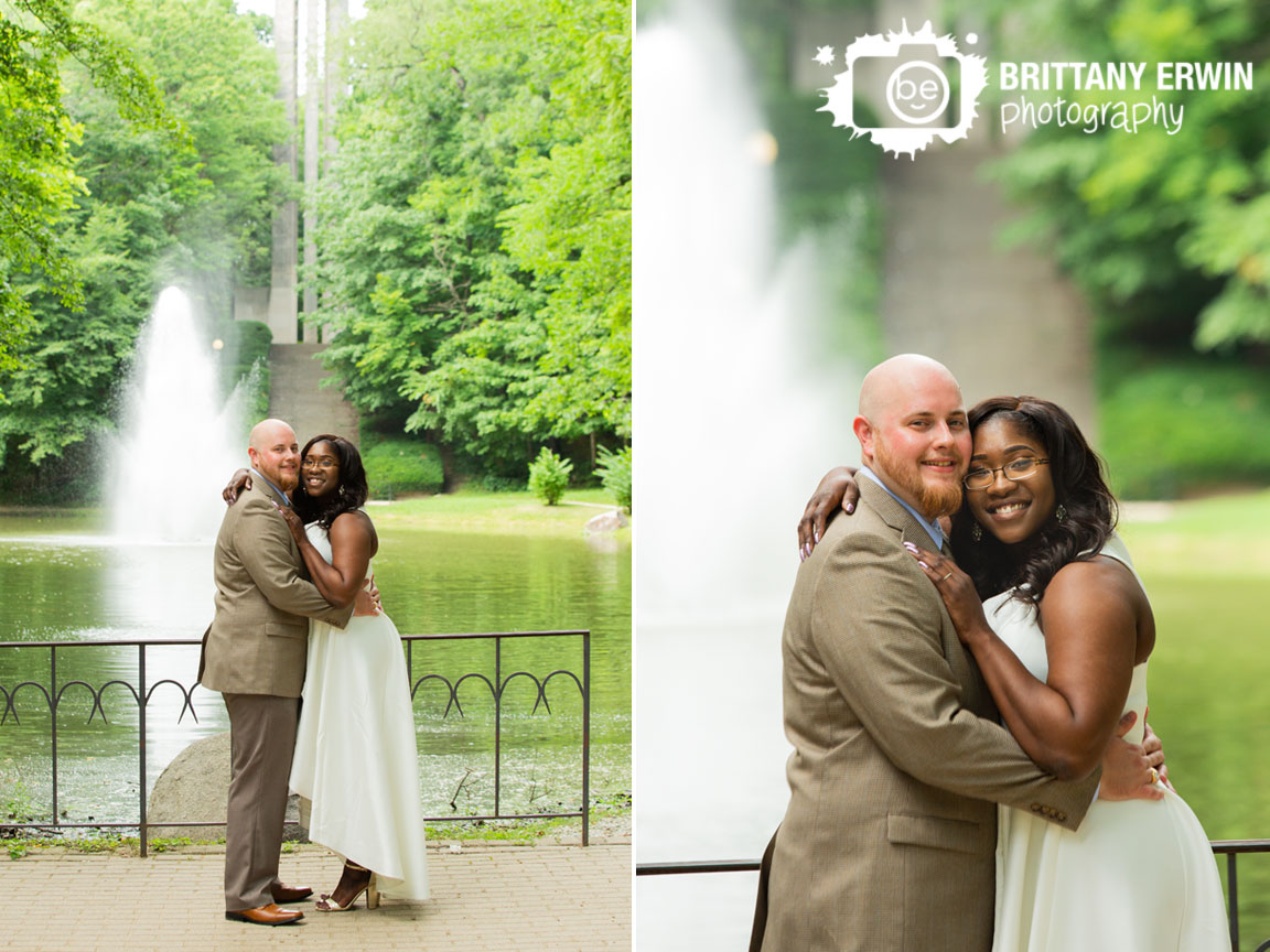 holcomb-gardens-bell-tower-stairs-pond-fountain-bridal-portrait-couple.jpg