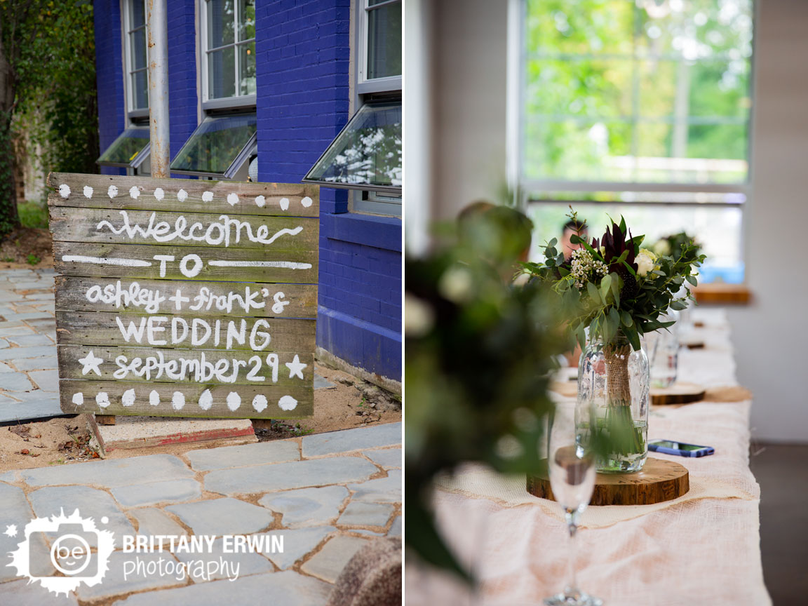 Welcome-sign-for-Tube-Factory-Art-space-wedding-venue-date-on-rustic-wood.jpg