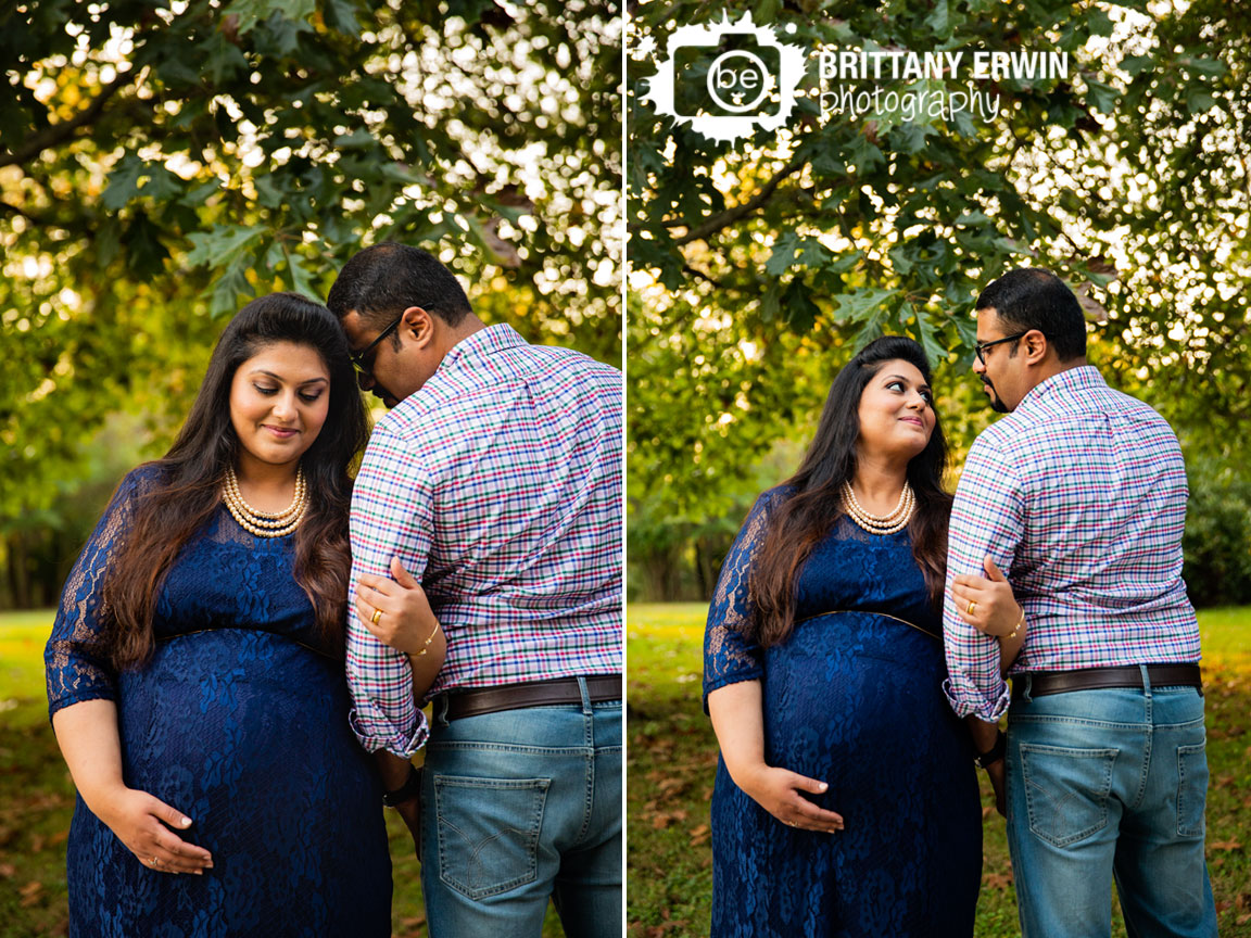 Camby-Indiana-maternity-portrait-photographer-blue-lace-dress-pearl-necklaces-couple.jpg