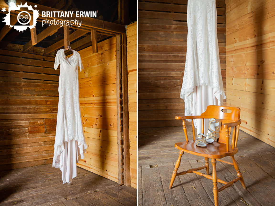 Barn-wedding-photographer-maggie-sottero-gown-hanging-with-shoes-on-chair.jpg
