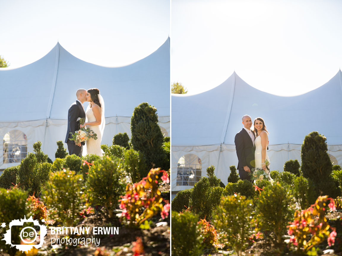 Fishers-Indiana-wedding-tent-reception-couple-sunset-in-trees-molly-myrtle-bridal-bouquet.jpg