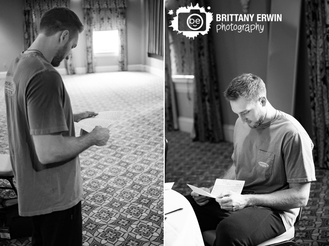 groom-reading-letter-from-bride-on-wedding-morning-getting-ready-union-station.jpg