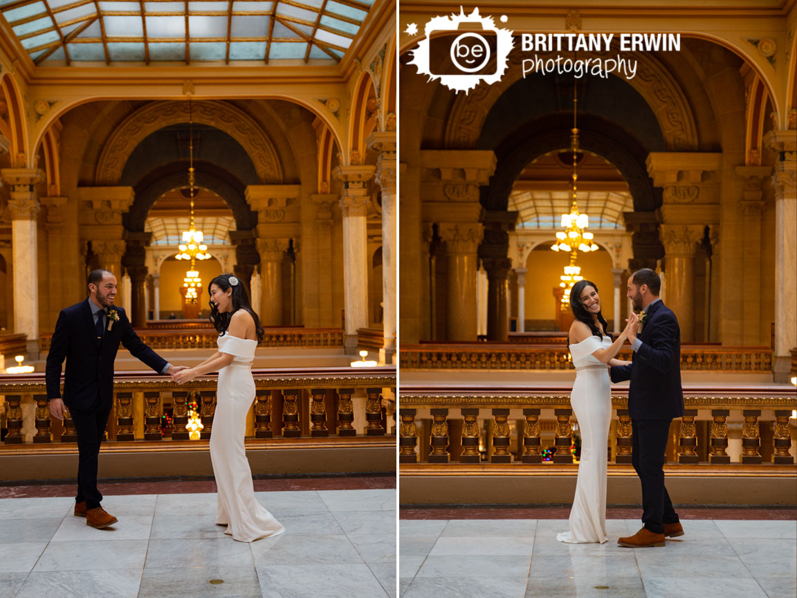 Indiana-State-House-Indianapolis-Elopement-photographer-couple-dancing-first-dance.jpg