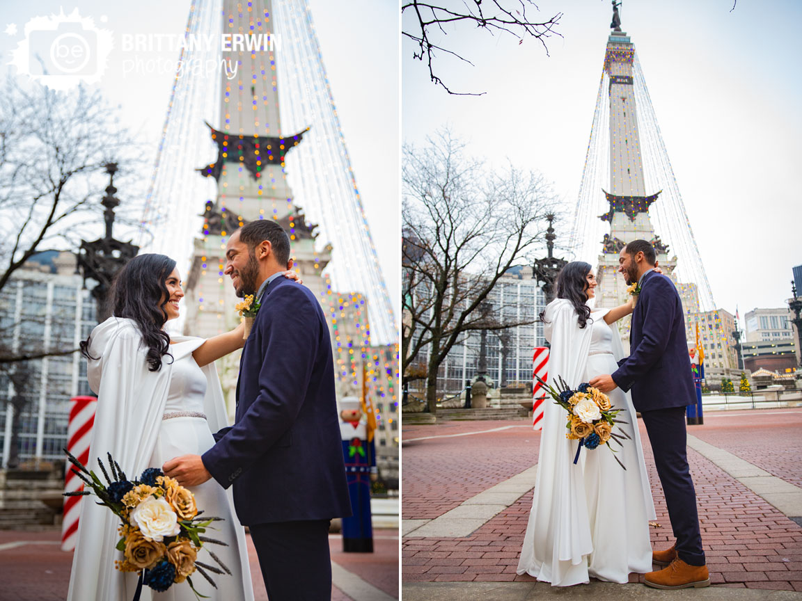 Downtown-Indianapolis-monument-circle-elopement-photographer-bride-groom-couple-with-tree-lights.jpg