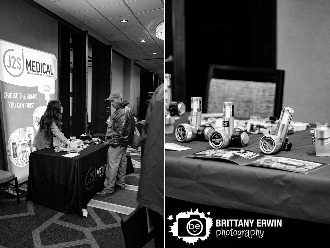 Indianapolis-event-photographer-attendee-interacting-at-booth-Sheraton-City-Center-Biomedical-conference.jpg
