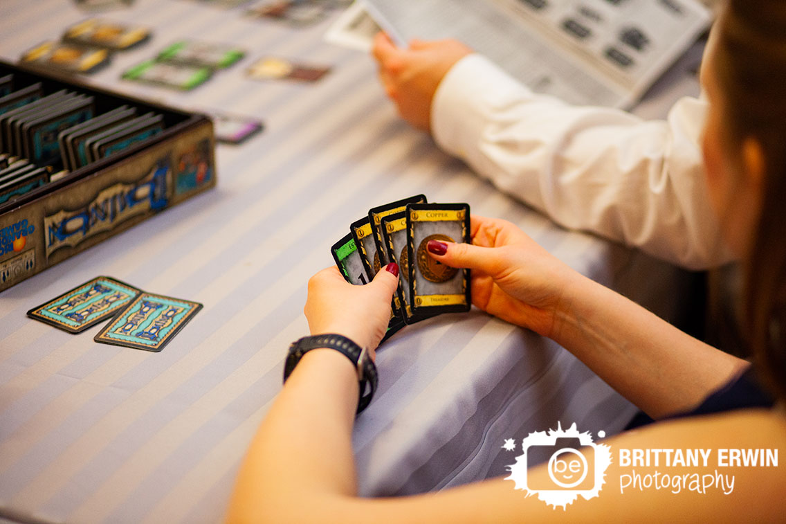 Indianapolis-wedding-photographer-nerdy-reception-dominion-deck-building-board-game.jpg