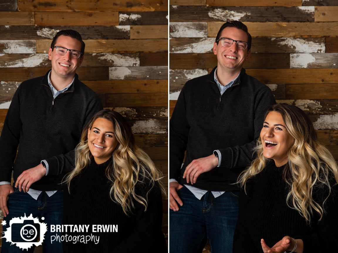 Indianapolis-portrait-photographer-rustic-barn-wood-wall-reclaimed-sibling-laughing.jpg