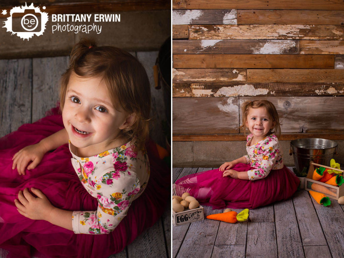 Indianapolis-portrait-photographer-studio-spring-mini-session-flower-dress-carrots-eggs-wood-wall.jpg