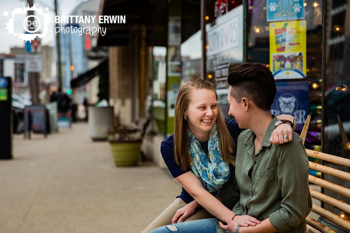 Indianapolis-portrait-photographer-couple-engagement-mass-ave-on-bench.jpg