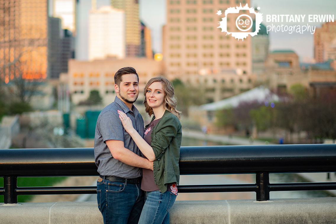 Indianapolis-downtown-skyline-engagement-portrait-photographer-couple-at-the-canal.jpg