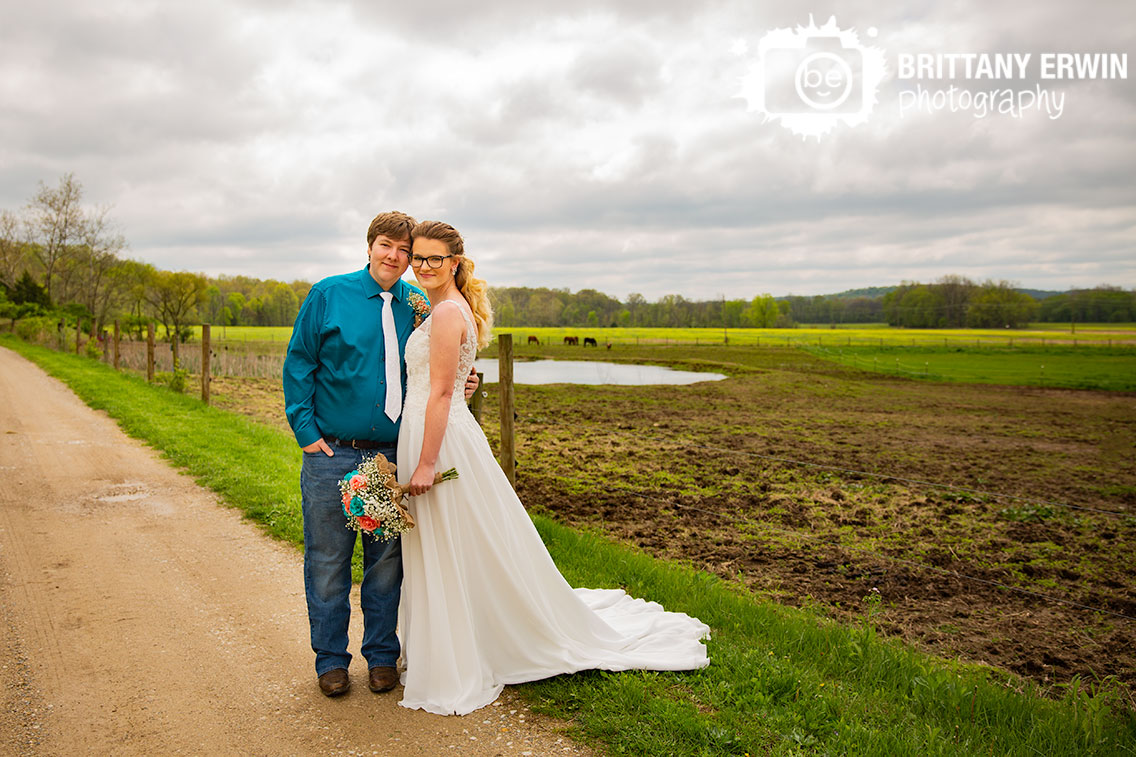 Rustic-Gatherings-LLC-wedding-photographer-Indiana-couple-outside-horse-farm.jpg