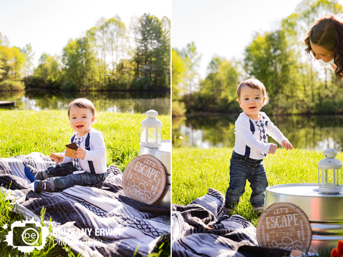 camping-portrait-session-theme-outside-pond-smores-lantern-first-birthday.jpg