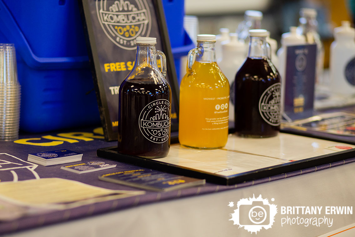 Circle-City-Kombucha-bottles-samples-at-Fletcher-place-charity.jpg