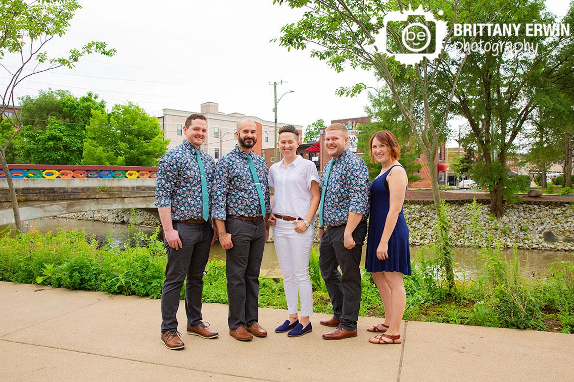Broad-Ripple-indiana-bridal-party-portrait-group-by-rainbow-bridge.jpg