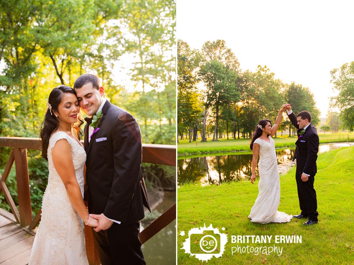 Indianapolis-wedding-photographer-sunset-couple-on-bridge-by-pond.jpg
