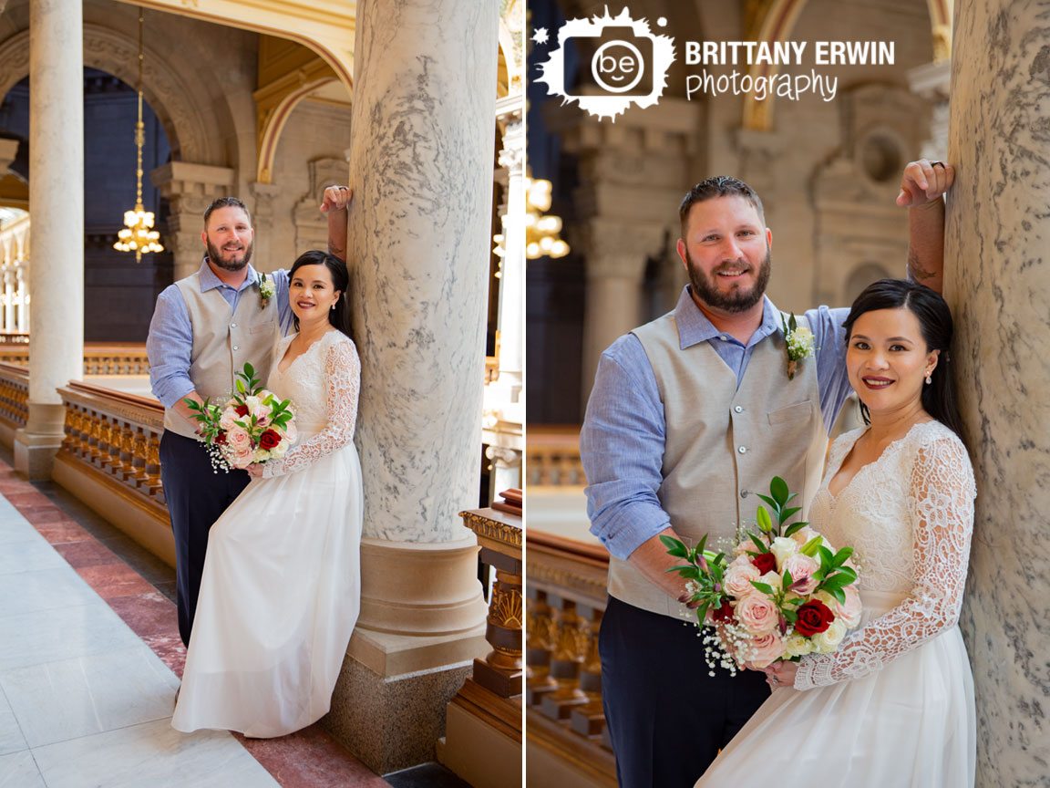 Indiana-State-House-railing-bridal-portrait-elopement-photographer-couple.jpg