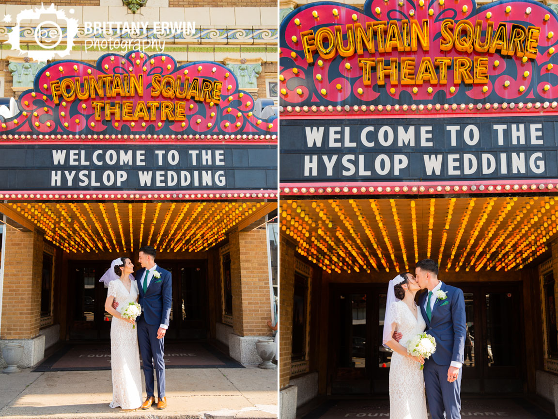 Fountain-Square-Theatre-wedding-photographer-welcome-to-the-wedding-sign-vintage-lights.jpg