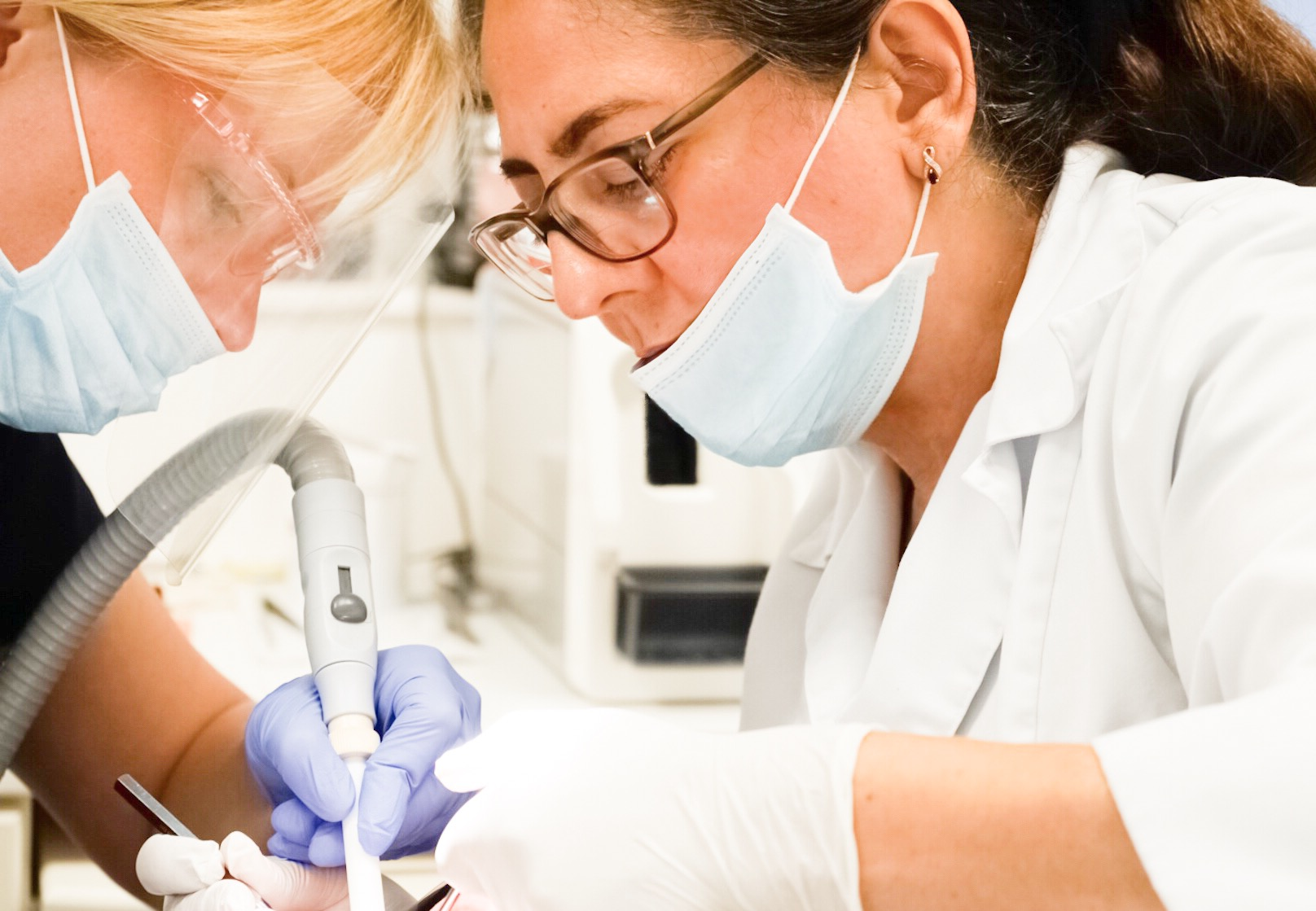 Restorative Dentistry - Restorative treatment has many applications particularly in broken or damaged teeth. Modern dental prosthetics are used to fully restore anatomical form and function of the affected teeth. Prosthetic teeth can be made to undetectably and seamlessly blend in and give you a brilliant, confident smile.