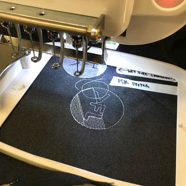 The VFL is coming at you with aprons and we're embroidering them too!