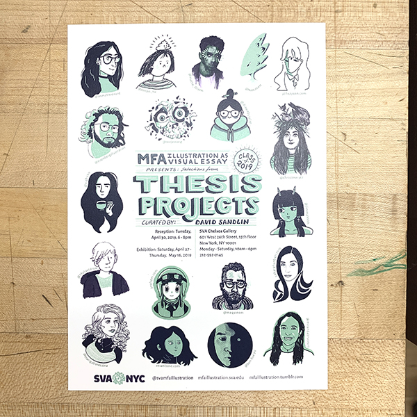 MFA students work hard for two years and these shows are the culminations of their academic careers as SVA. Come out and support your MFA candidates!
