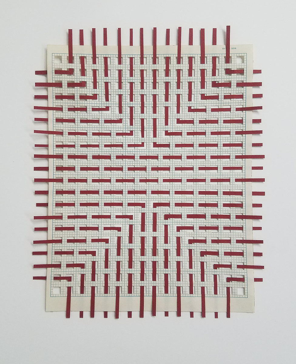 Red Weaving 2