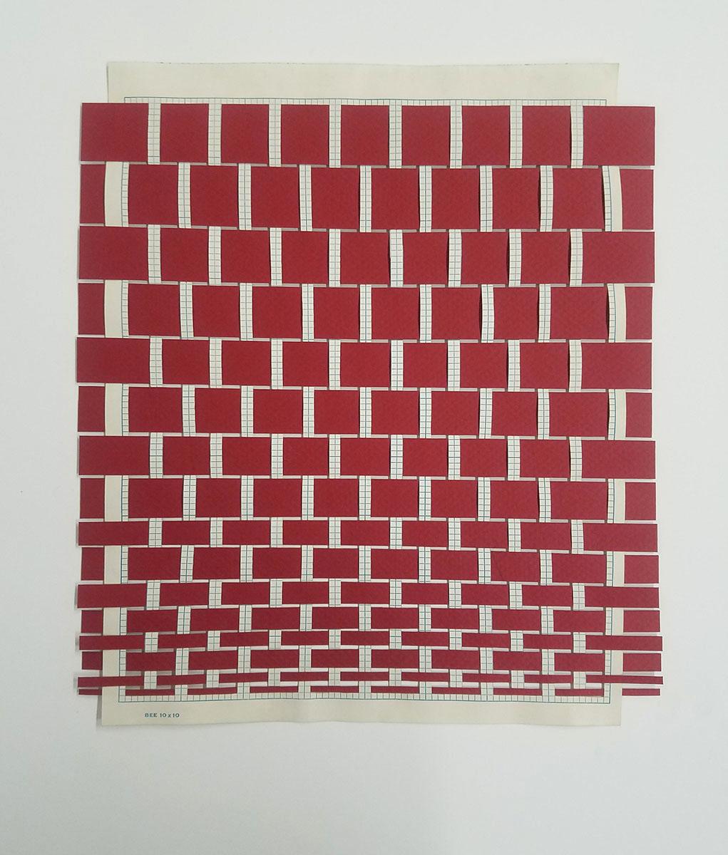 Red Weaving 3