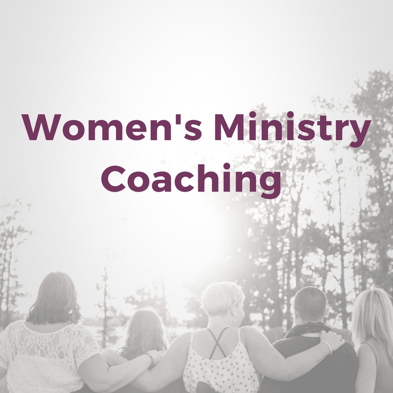 Need some help building your Women's ministry at your church? Taylor will come and brainstorm and coach with your team! -