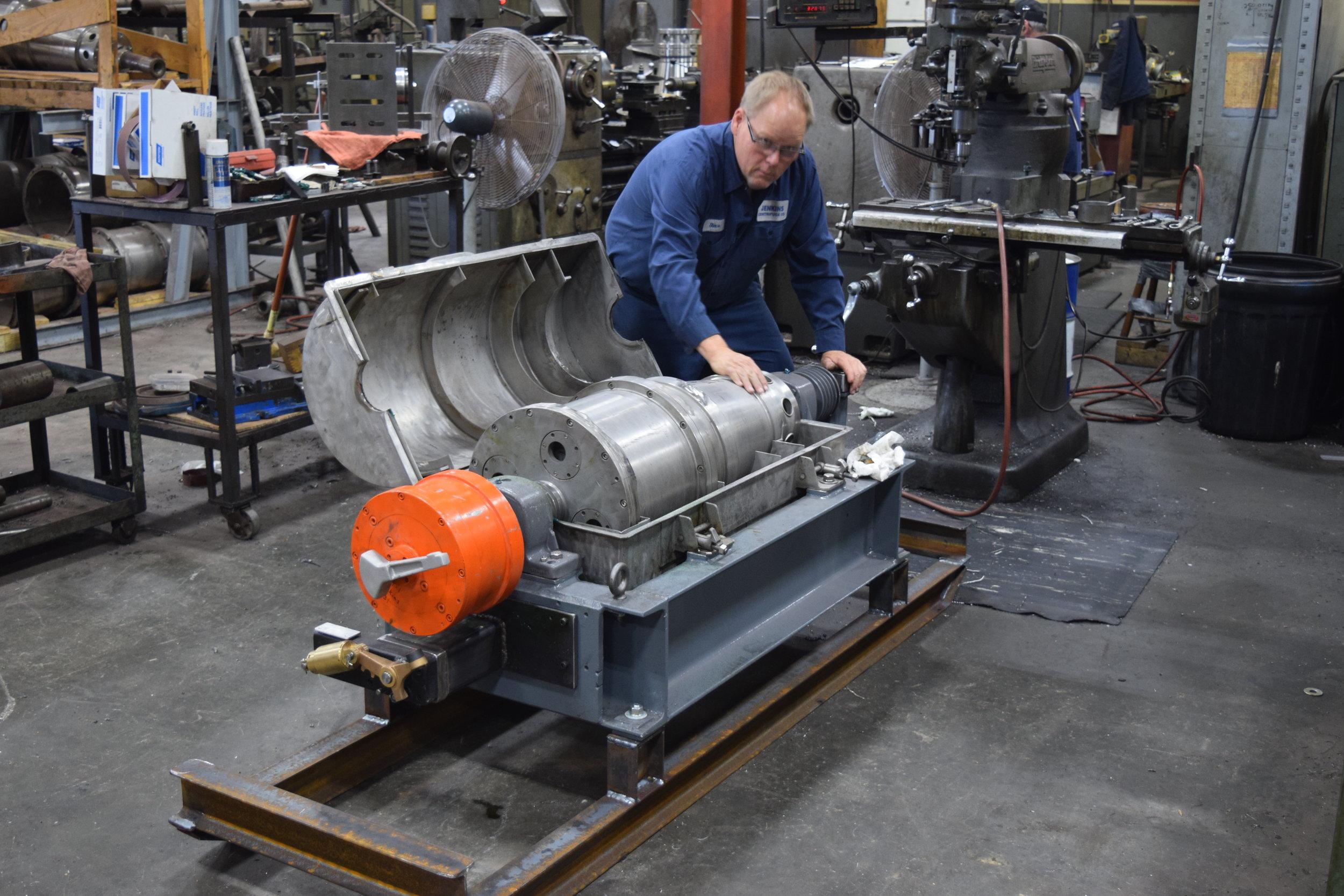 Centrifuge Rebuilding -