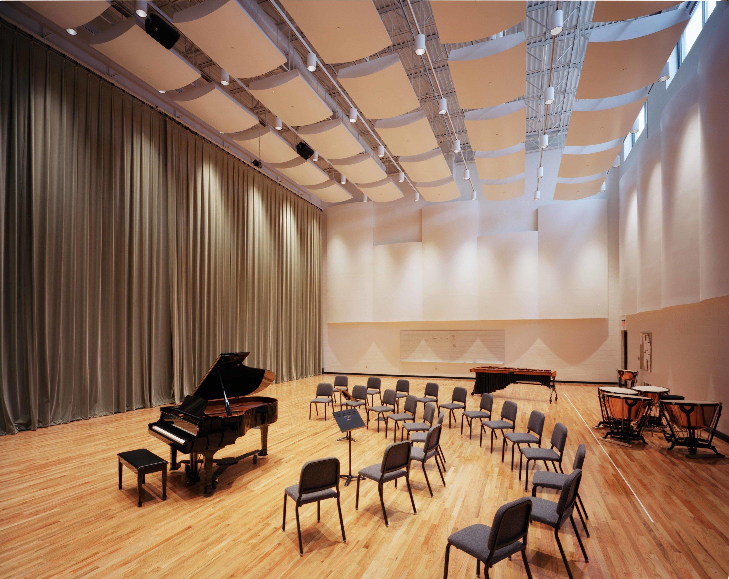 Blair School of Music Orchestra Reheasal Hall
