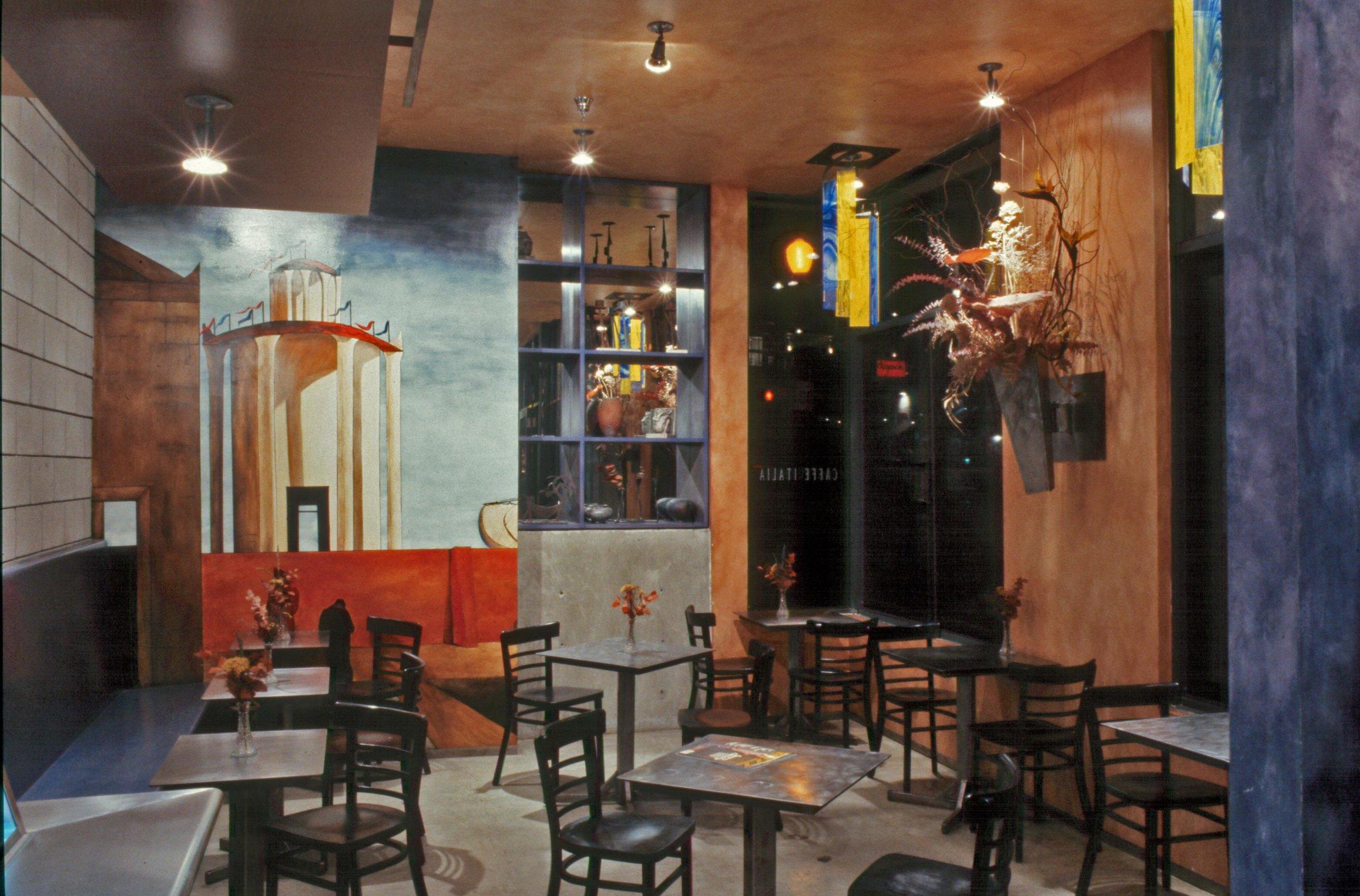 San Diego Little Italy Caffe Italia