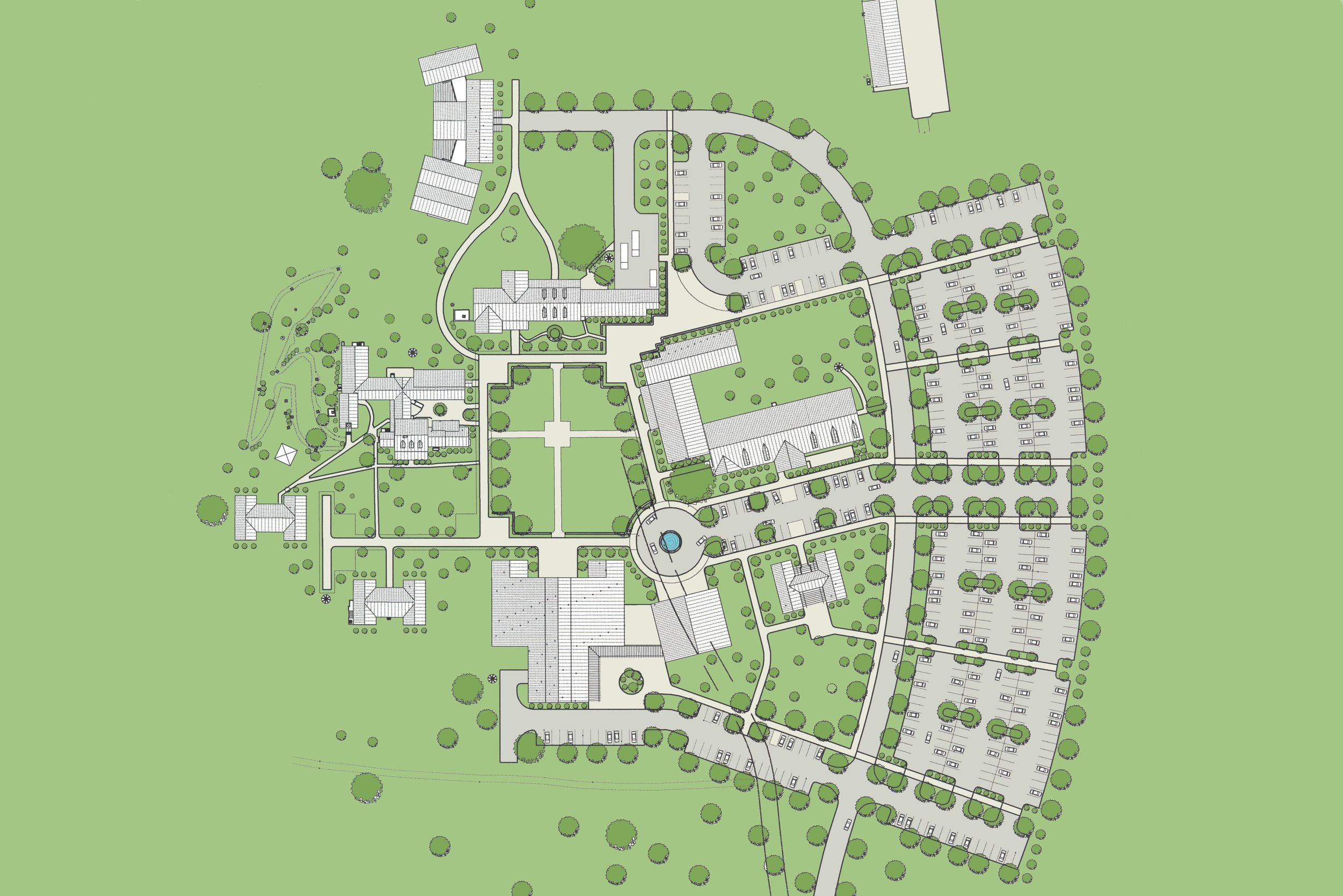 Cumberland Heights Master Plan & Conceptual Building Designs