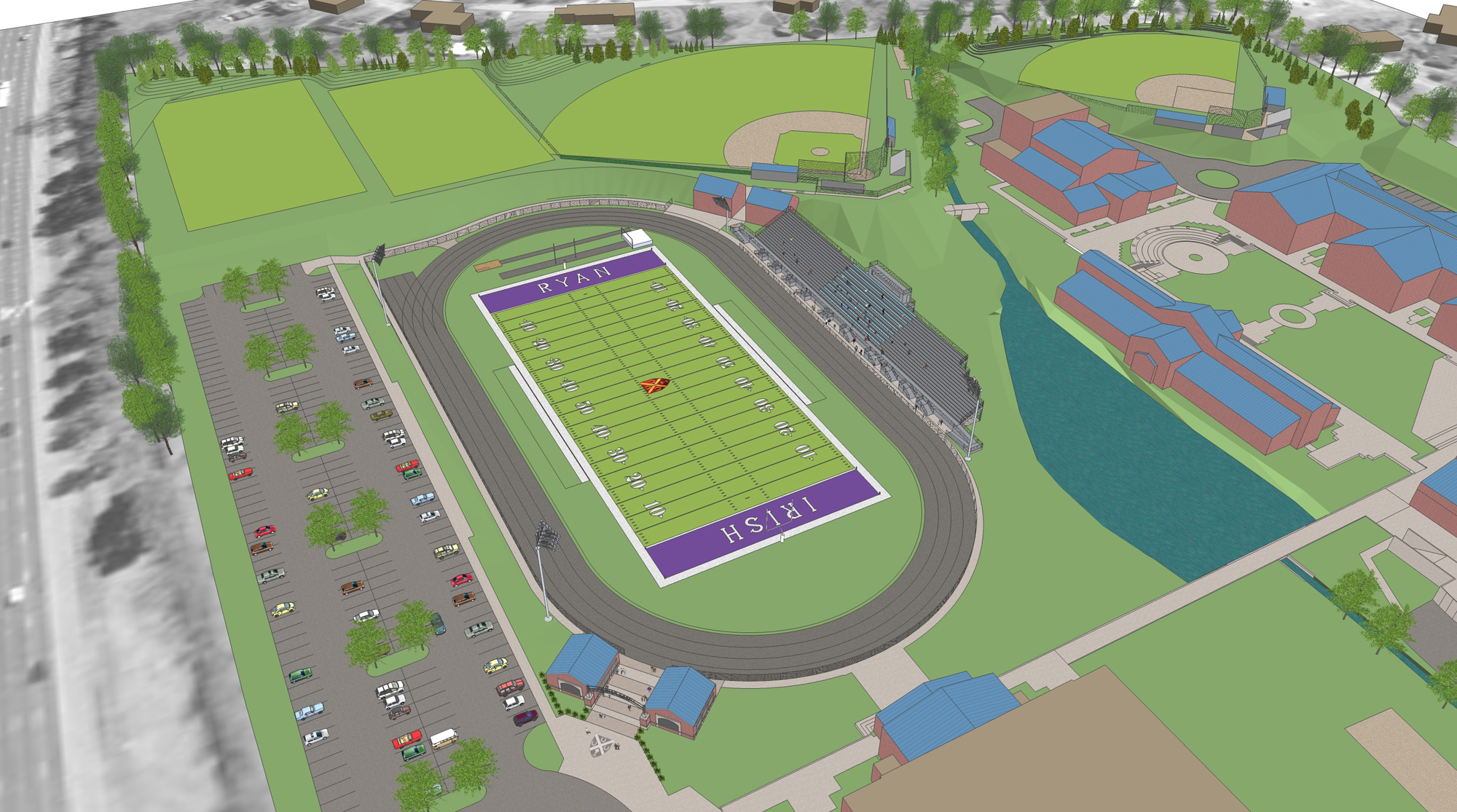 Father Ryan Sports Complex- Master Plan