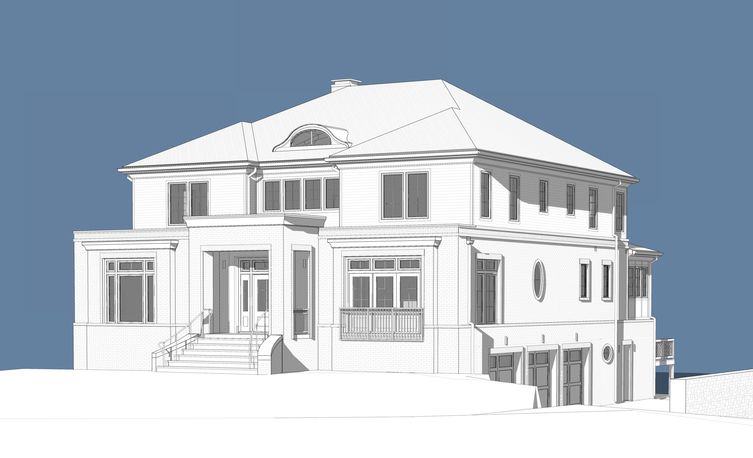 Sunnybrook Avenue Custom Single Family Residence