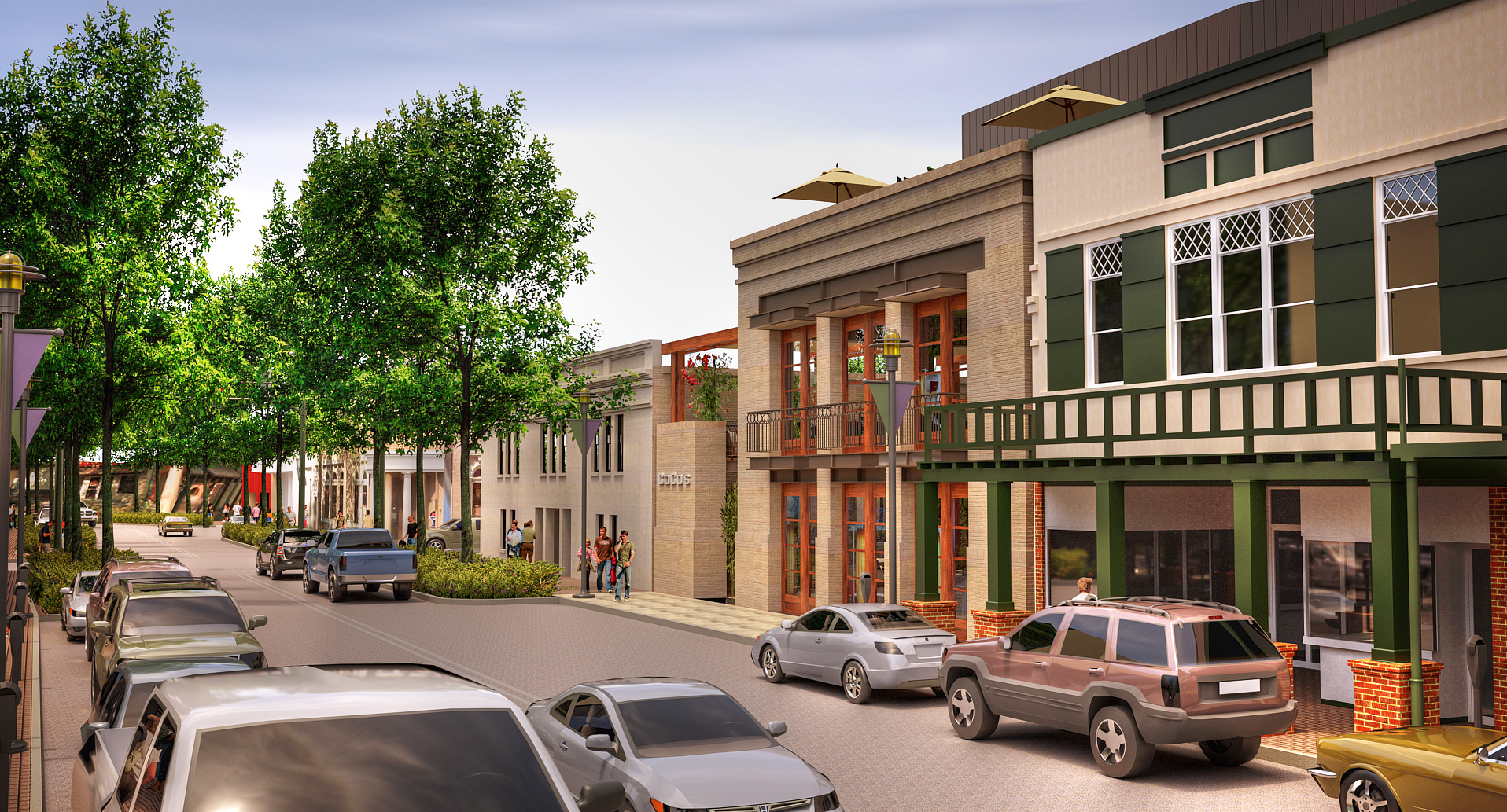 Lafayette, LA Downtown TIF District Mixed Use Infill Lot