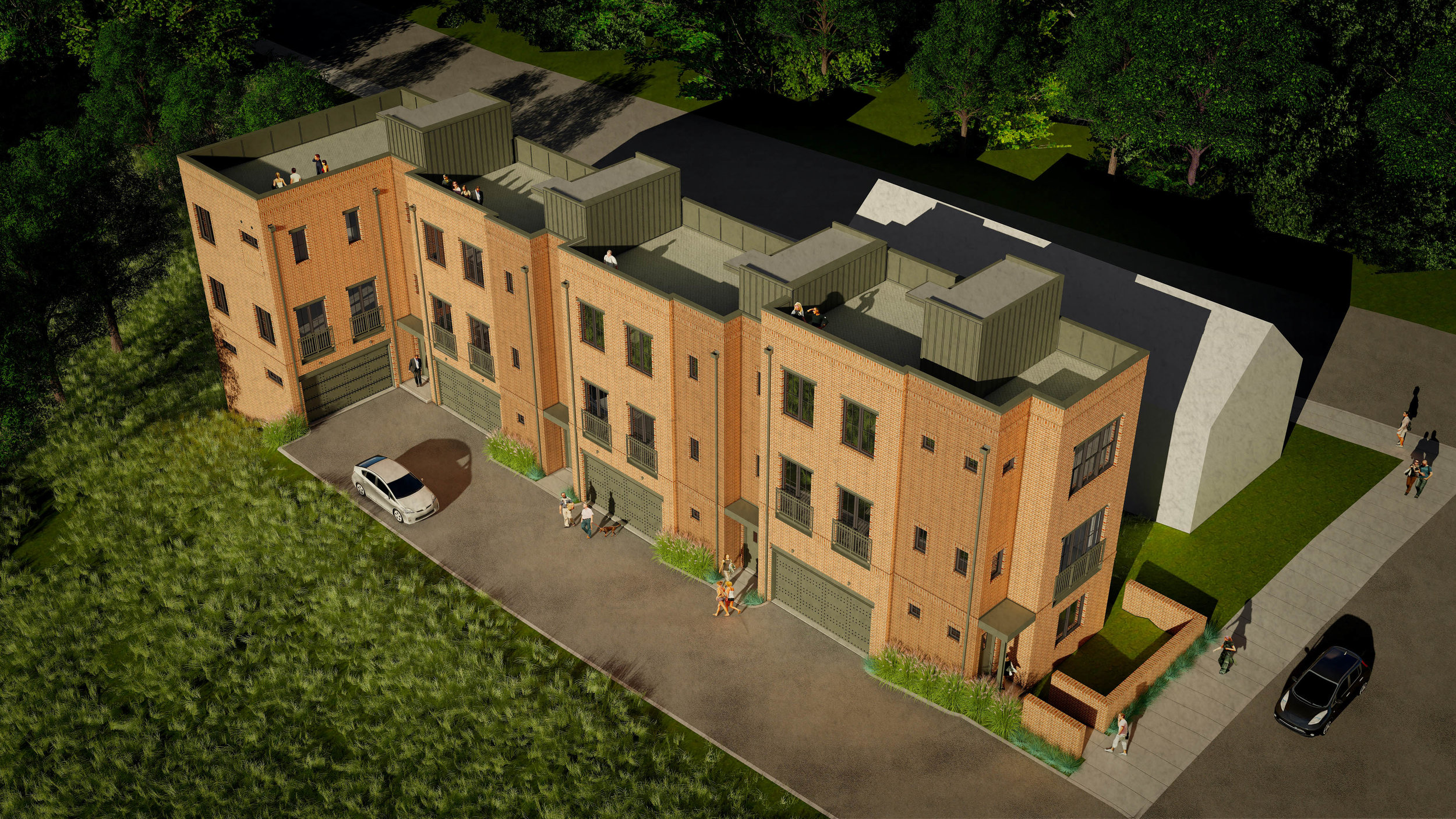 Wedgewood-Houston Warehouse District 4 Townhomes