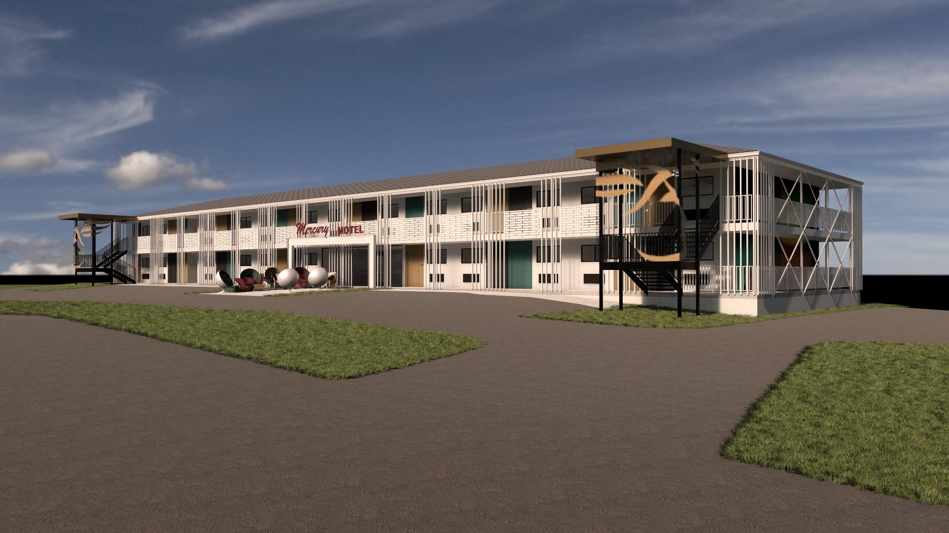 1960's Motel Renovation Concept
