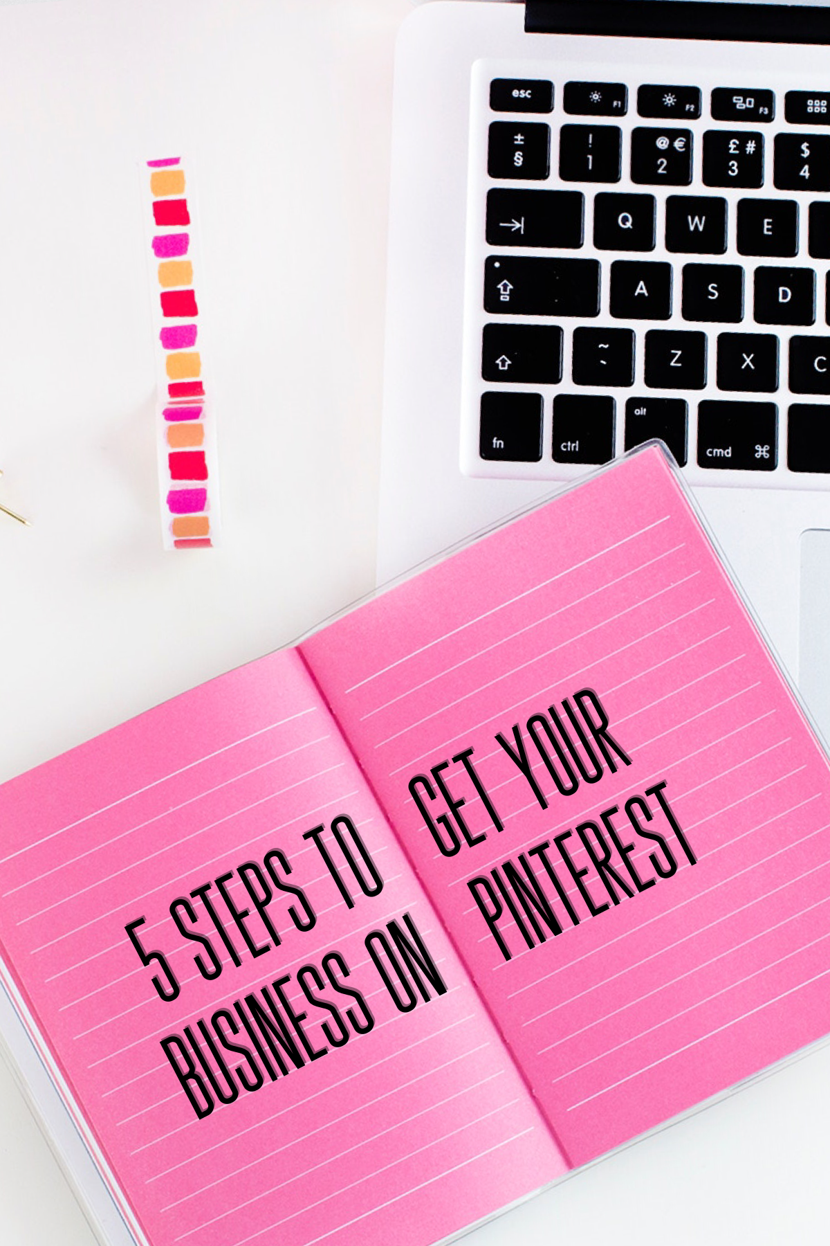 5 Steps to get your business on Pinterest- The Chaos Collective -www.cryistalchaos.com