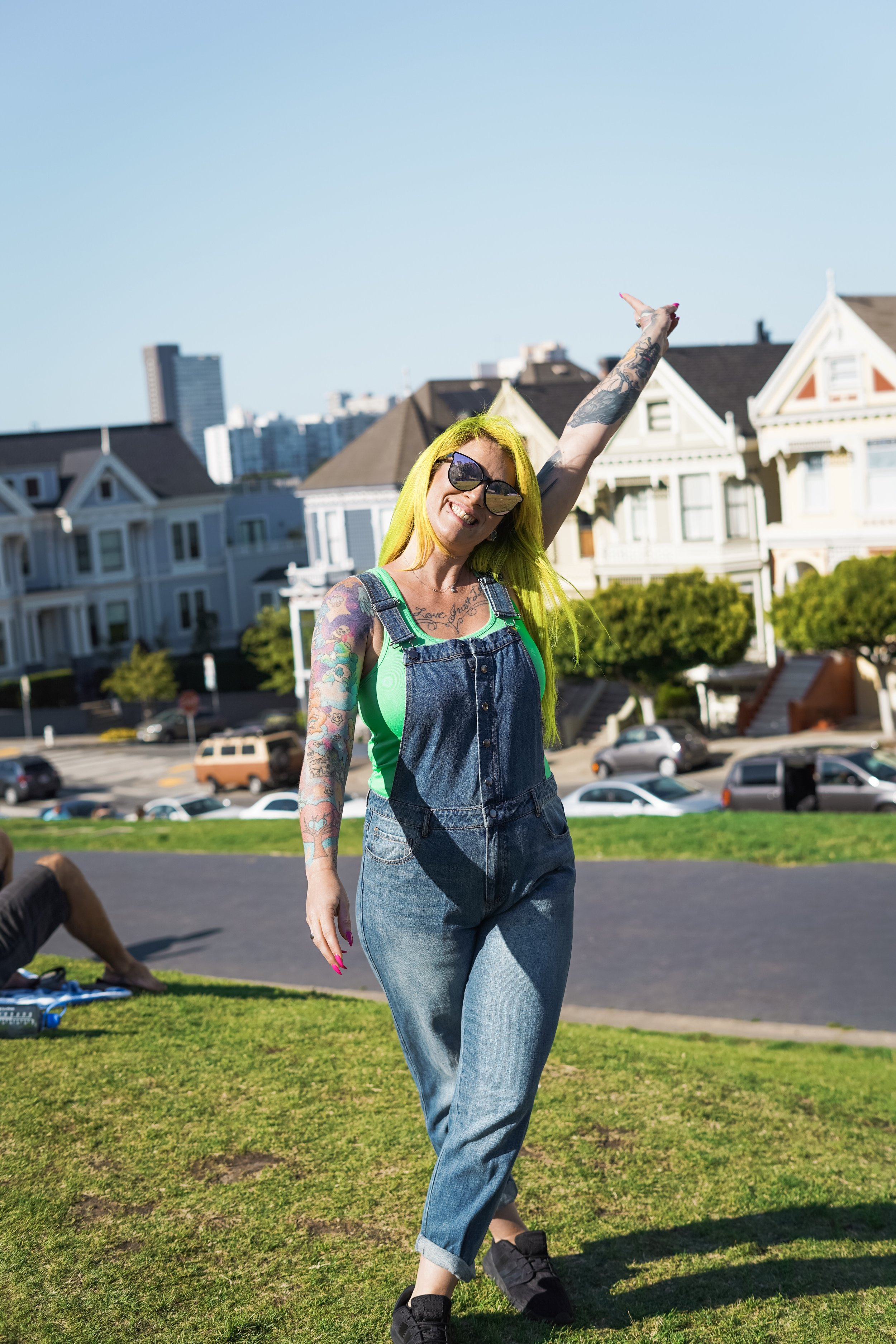 Painted Ladies- San Fransisco California- The Chaos Collective